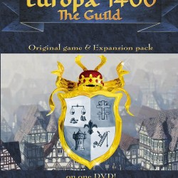 EUROPA 1400 THE GUILD ORIGINAL GAME & EXPANSION PACK PC DVD ROM ONLY DVD COMPATIBLE