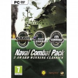 NAVAL COMBAT PACK 3 AWARD WINNING CLASSICS PC DVD ROM