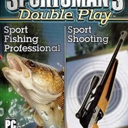 SPORTSMAN S DOUBLE PLAY SPORT FISHING PROFESSIONSL SPORT SHOOTING PC CD ROM