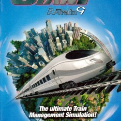 THE TRAIN GIANT A TRAIN 9 THE ULTIMATE TRAIN MANAGEMENT SIMULATION PC DVD ROM ONLY DVD COMPATIBLE
