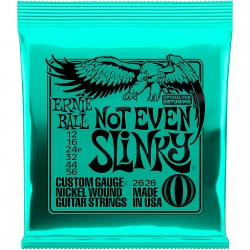 ELECTRIC GUITAR STRINGS ERNIE BALL 0.12 NOT EVEN SLINKY 2626