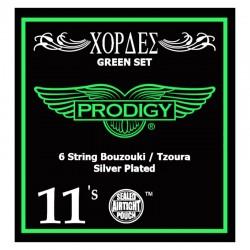 BOUZOUKI EXAX STRINGS 0.11 PRODIGY SILVER