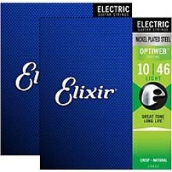 ELECTRIC STRINGS ELIXIR OPTIWEB 10 46 LIGHT