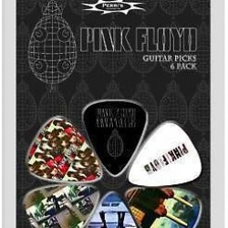 PINK FLOYD PERRI S GUITAR PICKS 6 PACK PACK 1
