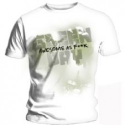GREEN DAY OVERSPRAY T SHIRT MALE S