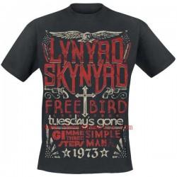 LYNYRD SKYNYRD T SHIRT FREEBIRD 1973 HITS MALE M