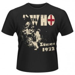 THE WHO T SHIRT ZURICH 72 MALE S