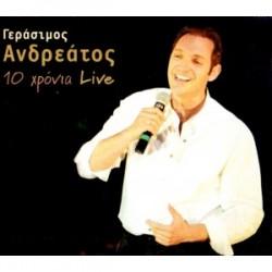 ANDREATOS GERASIMOS 10 years live