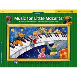 ALFRED S MUSIC FOR LITTLE MOZARTS MUSIC LESSON BOOK 2