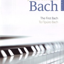 BACH the first Bach music book for piano