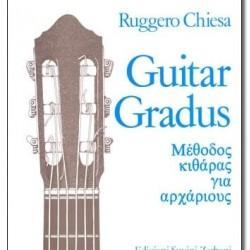 CHIESA RUGGERO GUITAR GRADUS GUITAR METHOD FOR BEGINNERS
