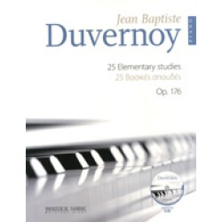 DUVERNOY J.P. 25 elementary studies op. 176.
