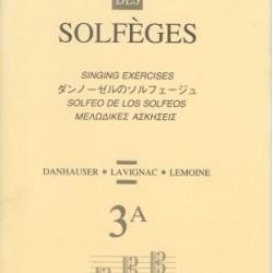 LEMOINE 3A SOLFEGE