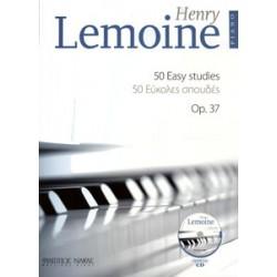 LEMOINE Henri 50 easy studies op.37