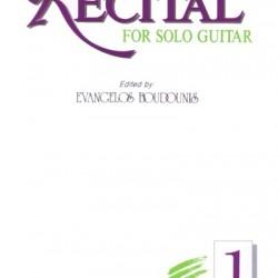 ΜΠΟΥΝΤΟΥΝΗΣ Ευάγγελος RECITAL for solo guitar 1