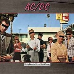 ACDC DIRTY DEEDS DONE DIRT CHEAP LP