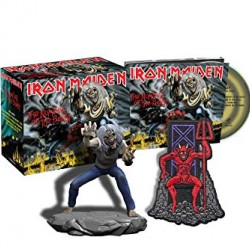 IRON MAIDEN THE NUMBER OF THE BEAST DLX CD WITH FIGURE 2018