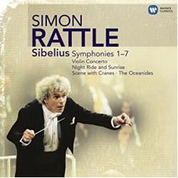 RATTLE SIMON SIBELIUS SYMPHONIES 1-7