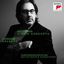 KAVAKOS LEONIDAS 2019 BEETHOVEN VIOLIN CONCERTO CD