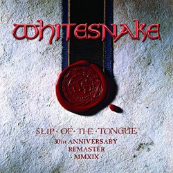 WHITESNAKE 2019 ANNIVERSARY REMASTER MMXIX SLIP OF THE TONGUE 2 CD