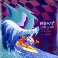 MGMT congratulations limited edition