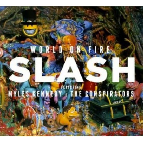SLASH WORLD ON FIRE