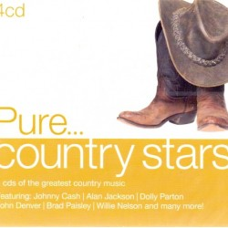 PURE ... COUNTRY STARS 4 CD