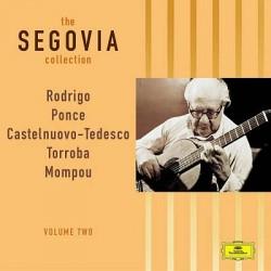 THE SEGOVIA COLLECTION RODRIGO PONCE CASTELNUOVO TEDESCO TORROBA MOMPOU VOLUME TWO