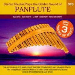 stefan nicolai plays the golden sound of PANFLUTE