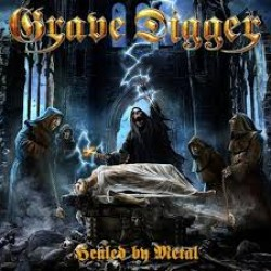 GRAVE DIGGER 2017 HEALED BY METAL DLX CD