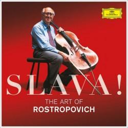 ROSTROPOVICH 2017 THE ART OF 3 CD SLAVA!