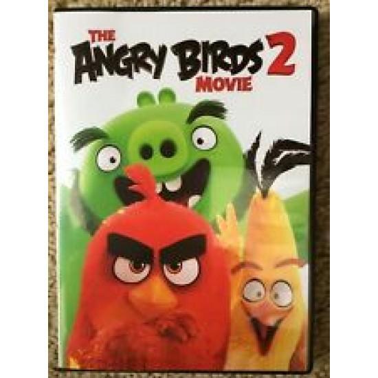 ANGRY BIRDS 2 THE MOVIE DVD 2019