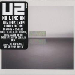 u2 no line on the horizon limited edition