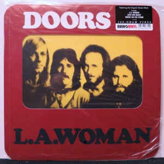 THE DOORS LA WOMAN LP RHINO VINYL