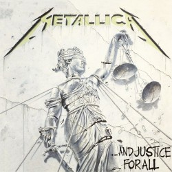 METALLICA ... AND JUSTICE FOR ALL VINYL