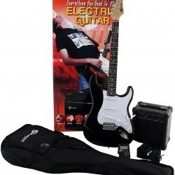 ELECTRIC GUITAR PACK SOUNDSATION BLACK