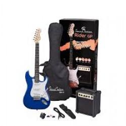 ELECTRIC GUITAR PACK SOUNDSATION TROPICAL BLUE