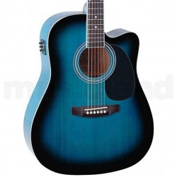 ELECTRIC ACOUT GUITAR SOUNDSATION YELLOWSTONE BLUE