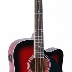 ELECTRACOUT GUITARS SOUNDSATION YELLOWSTONE RED