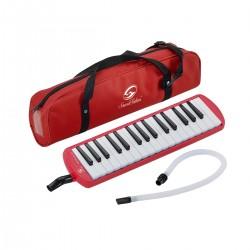 FUTURE PIANO 32 SOUNDSATION RED KEYS