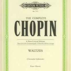 CHOPIN VALSES PIANO BOOK