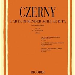 CZERNY 50 OP.740 L ARTE DI RENDER AGILI LE DITA