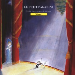 LE PETIT PAGANINI THE LITTLE PAGANINI VIOLIN METHOD 1st year / issue 1st