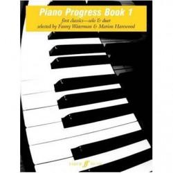 WATERMAN PIANO PROGRESS BOOK 1